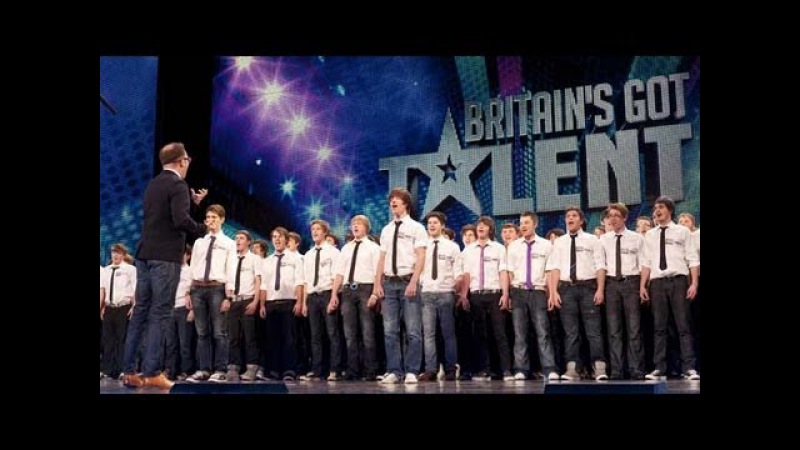 Only Boys Aloud - The Welsh choirs Britains Got Talent 2012 audition - UK version