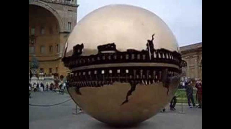 Золотой земной шар в Италии, Ватикан