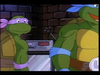 Черепашки ниндзя (Teenage Mutant Ninja Turtles) - Сплинтер пропал (4 Сезон, 34 Серия)