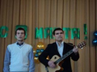 Вокальный дуэт Биглов Айдар и Вахитов Фидан. Песня Милые зелёные глаза