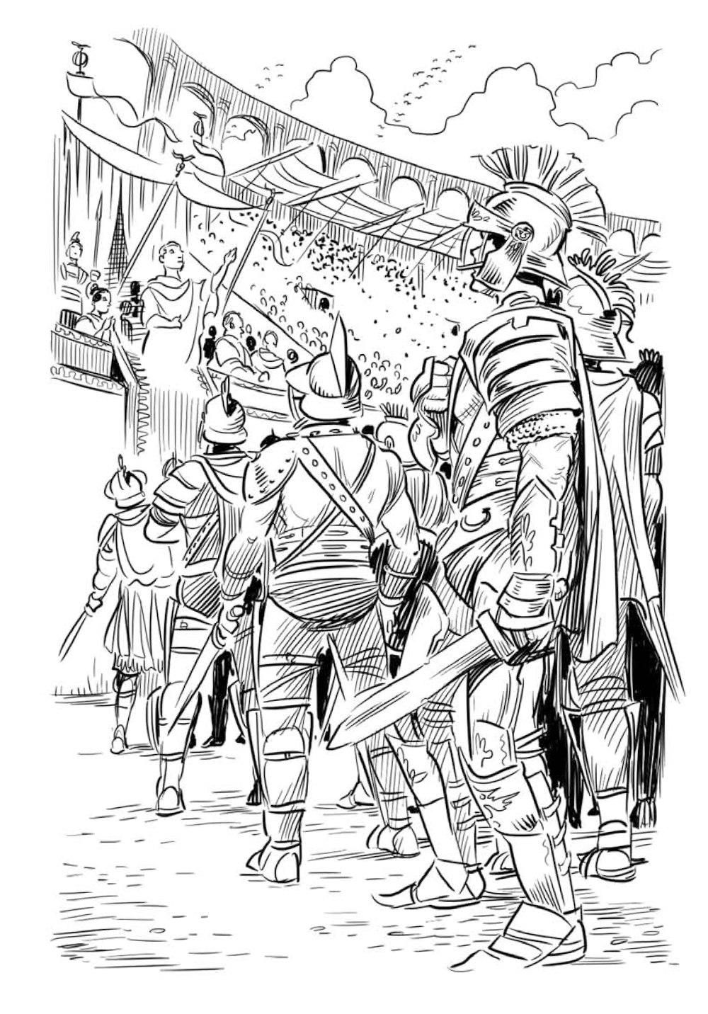 Юлий Цезарь иллюстрированная биография для детей