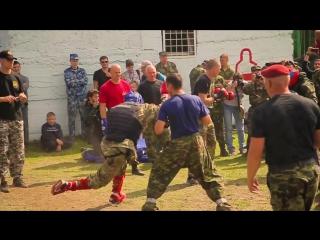 Всероссийские испытания спецназа ФСИН на право ношения крапового берета - 2015