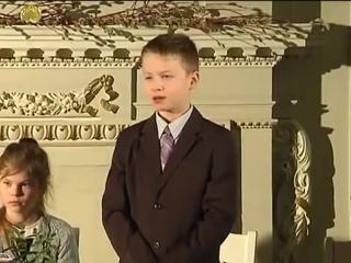 Латышский мальчик рассказывает анекдот про русских