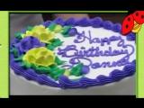 Стильное украшение торта на день рождение или праздник за 5 минут! (как украсить торт)
