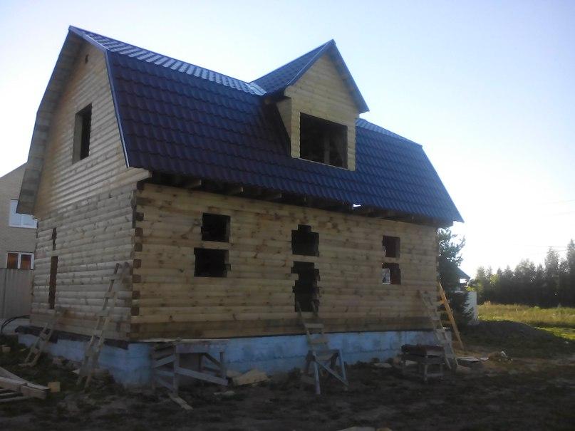 Наш строящийся дом