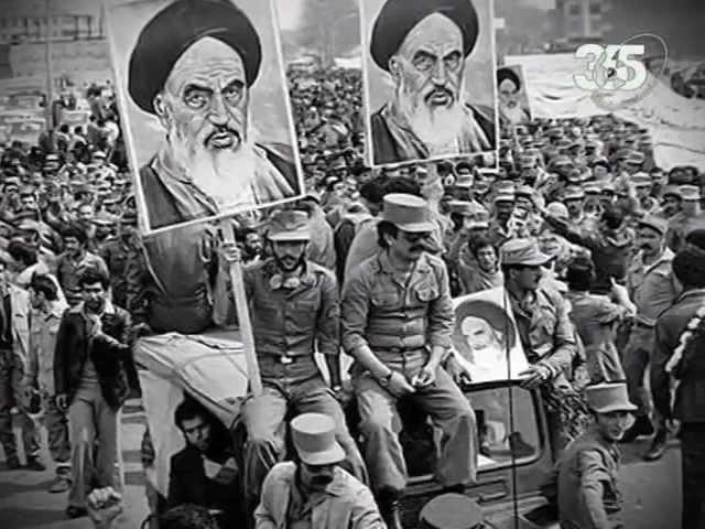 История иранской революции.