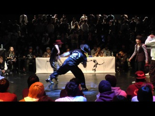 JUSTE DEBOUT JAPAN 2016 LOCK BEST4 SORI & SACHI vs Funk For Life