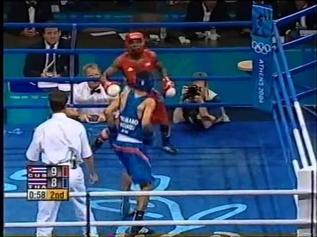 Athens 2004 Olympic boxing Amir Khan, G Rigondeaux