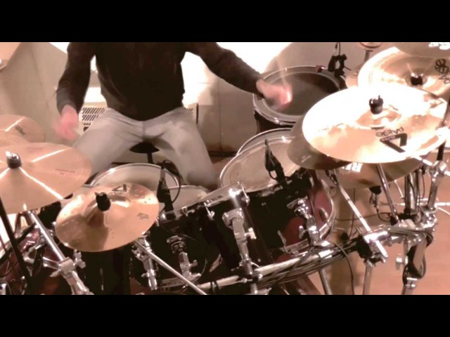 The hero - Amon Amarth - Drum cover