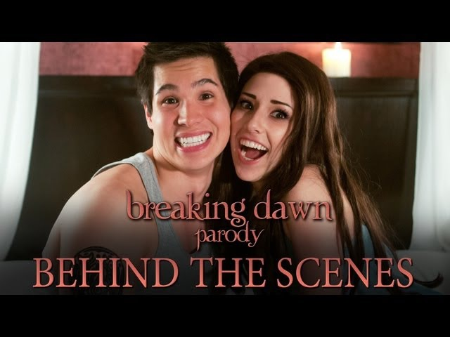 The Making of Breaking Dawn Parody by The Hillywood Show®