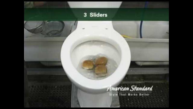 Cadet 3 Toilet Flushing Demo - Cat litter, Sliders, Cigarettes, and more
