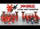LEGO Ninjago Stone Warriors Army Building w/ General Kozu KnockOff Minifigures