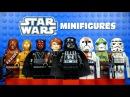 LEGO Star Wars The Clone Wars KnockOff Minifigures Set 3 w/ Darth Vader Darth Maul C3PO
