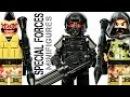 LEGO Brick Warfare Special Forces Tactical Assault Team KnockOff Minifigures w/ Sniper Gunner