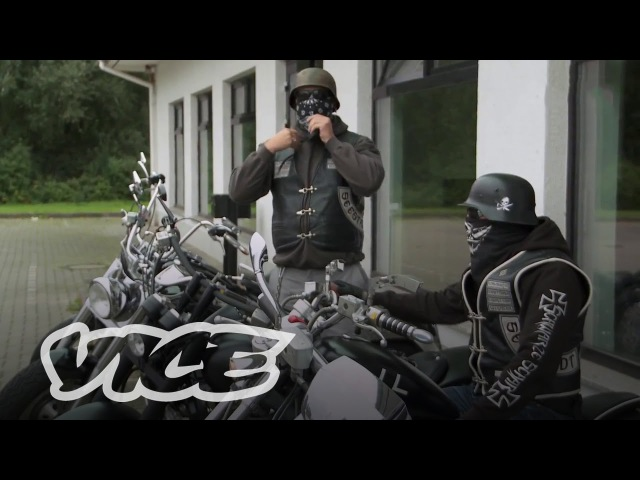 Schwarze Schar biker Gang of Germany