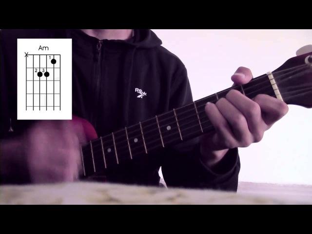 Как играть на Гитаре - Ханшайымым [Ғаділбек Жаңай] [Бейнесабақ] Урок