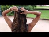 Видео уроки причесок - Женские прически, стрижки, плетение волос своими руками на каждый день #6