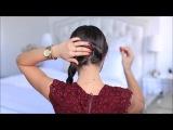 Видео уроки причесок - Женские прически, стрижки, плетение волос своими руками на каждый день #7