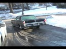 Parking my 1965 lincoln continental with glasspacks