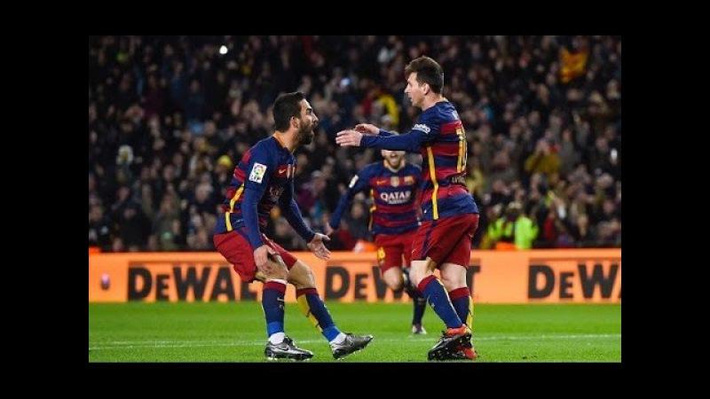 Божественный Гол Лионеля Месси Барселона Эспаньол 4 1 Кубок Испании 2015 16
