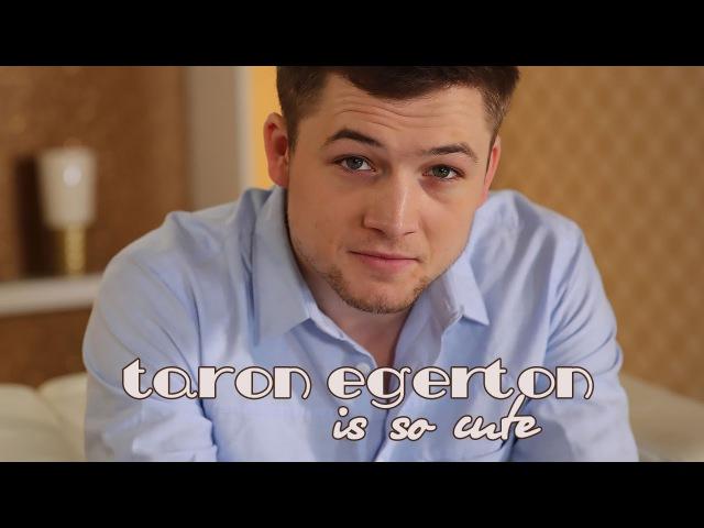 Taron Egerton is so cute!