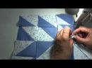 Пэчворк мастер класс Как собрать блок из квадратов