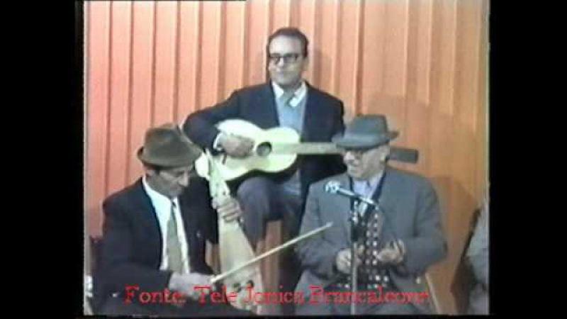 LIRA CALABRESE Tarantella Sidernese 1979 la tradizione LIRA, FISCHIOTTI E BATTENTE