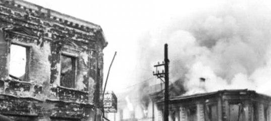 Памятник с крестом на просвет Юхнов Мемориальный комплекс с арками и колонной Воронеж
