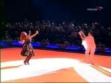 Хава нагила (танцуют-Алина Кабаева и Ирина Винер.Юбилейный вечер)