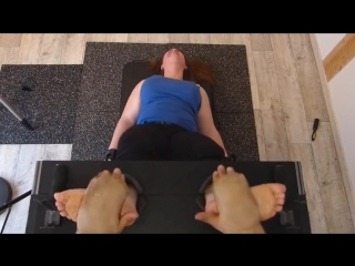 Frenchtickling Lara Bare Feet
