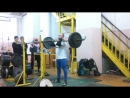 ВЗЯТИЕ ШТАНГИ НА ГРУДЬ 100 кг