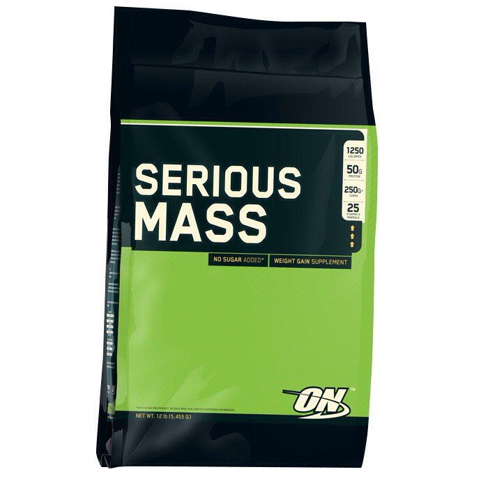 Optimum nutrition Serious Mass 5,5 кг