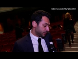 Мурат на премьере Annemin Yarası  Gala Röportajları