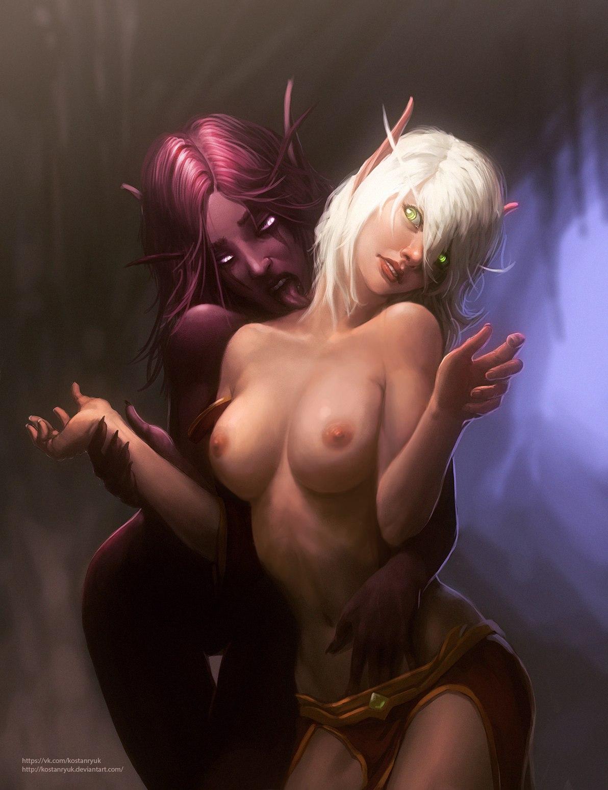Фото голых девушек варкрафта 7 фотография