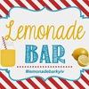 Аренда лимонадниц Lemonade bar Лимонадный бар