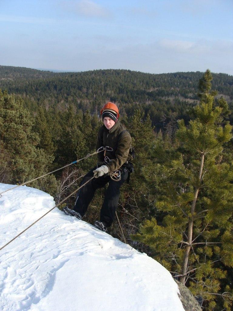 Тренировка альпинистов на Чашковке (20.12.2015)