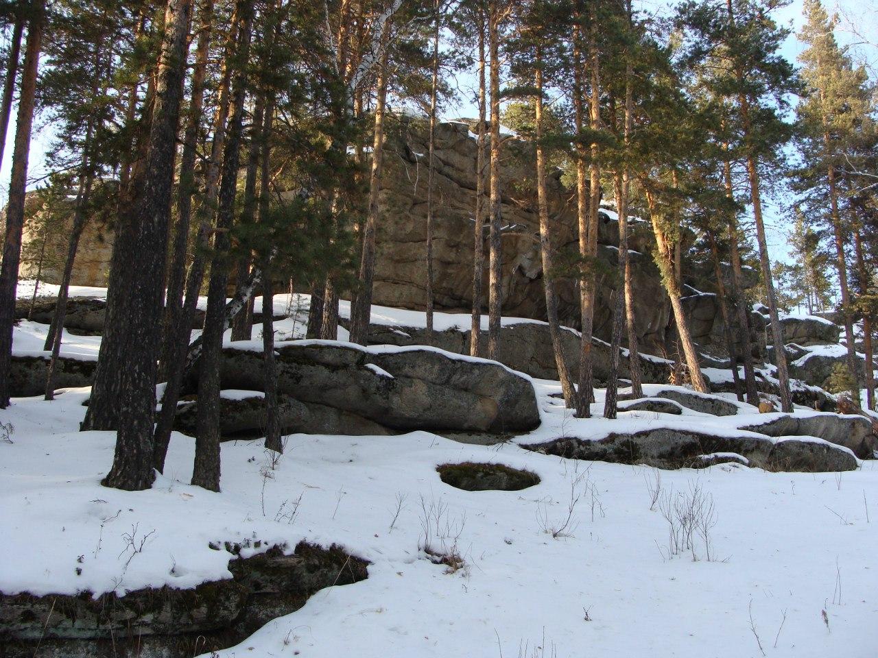 Чашковские скалы (20.12.2015)