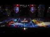 Предматчевое шоу для финала КХЛ: СКА -