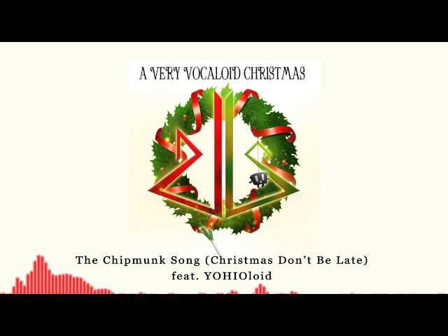 The Chipmunk Song (Christmas Don't Be Late) feat. YOHIOloid - Drum Bass [ dj-Jo ]