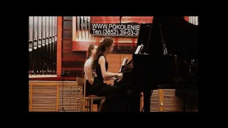 Моцарт-Соната для двух фортепиано D dur
