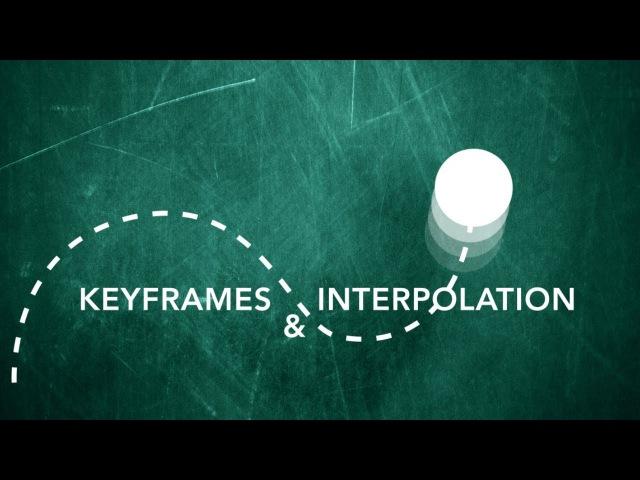After Effects Tutorial Keyframes Interpolation
