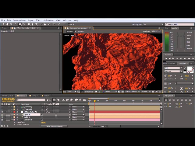 Getting Started with Trapcode Mir - Part 2: Shader, Material Texture