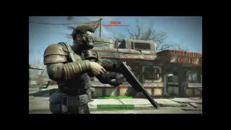 Fallout 4: Mysterious Stranger Kill Montage