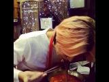 """우주대스타 김희철 on Instagram: """"아 매워.. 매운데 좋아... 하악하악....?? 현민이가 하&#457"""