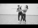 Lucas Oliveira e Rúbia Frutuoso dançando zouk