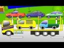 Автовоз. Мультик про машинки. Развивающий мультфильм для детей