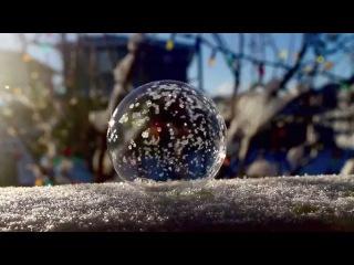 Что произойдёт с мыльным пузырём на морозе?
