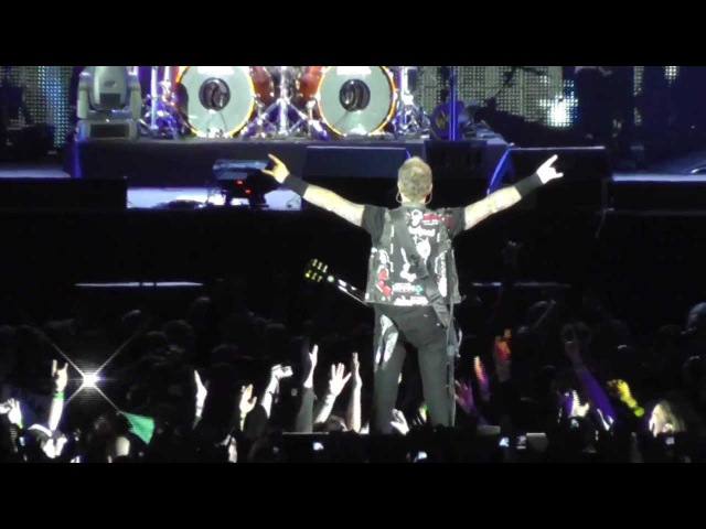 Metallica - 07.05.2012 Prague, Czech Republic - complete version in full HD quality [Black album]