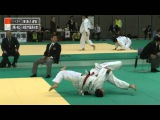平成24年度講道館杯全日本柔道体重別選手権大会-男子90kg級2回戦 ベイカ&#12540