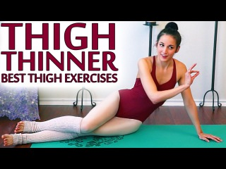 ULTIMATE Inner Thigh Challenge Workout Best Leg Slimming Exercises For Thigh Gap